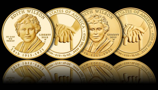 2013-W $10 Edith Wilson First Spouse Gold Coins