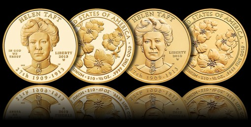 2013-W $10 Helen Taft First Spouse Gold Coins