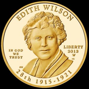 2013-W $10 Proof Edith Wilson First Spouse Gold Coin - Obverse