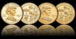2013-W $10 Proof Ellen Wilson First Spouse Gold Coins