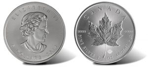 2014 Silver Maple Leaf Bullion Coins