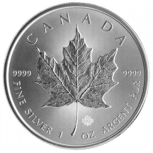 2014 $5 Silver Maple Leaf Bullion Coin - Reverse