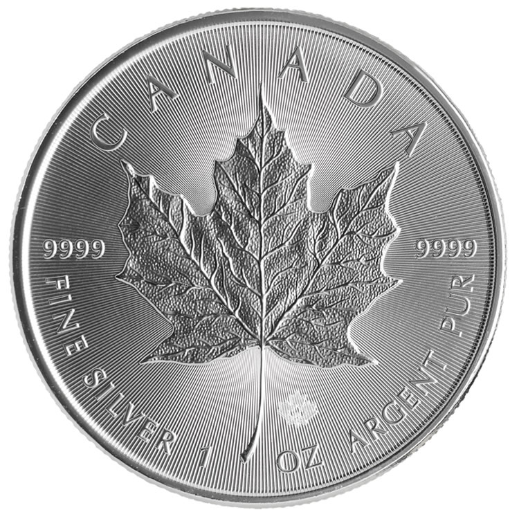 2014 Silver Maple Leaf Bullion Coins New Security And