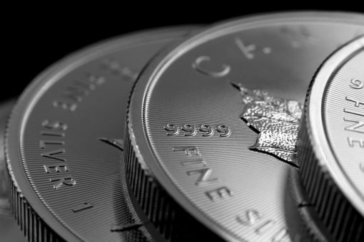 2014 $5 Silver Maple Leaf Bullion Coins - Edges