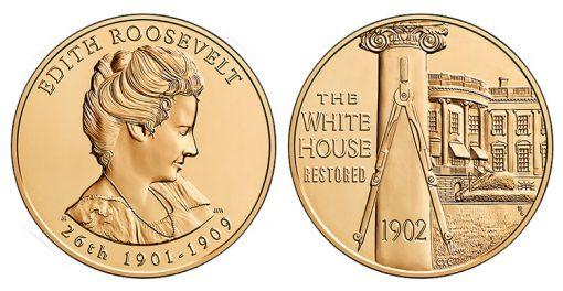 Edith Roosevelt Bronze Medal