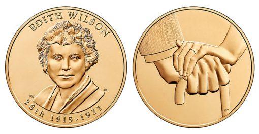 Edith Wilson Bronze Medal