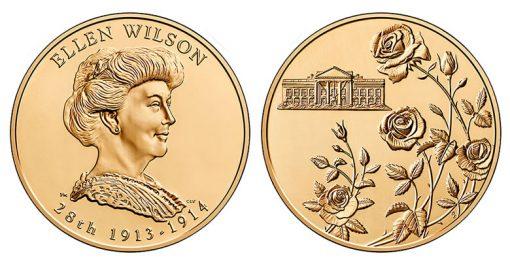 Ellen Wilson Bronze Medal