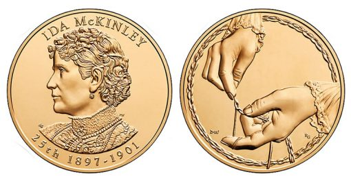 Ida McKinley Bronze Medal