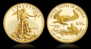 2013-W $5 Proof American Gold Eagle