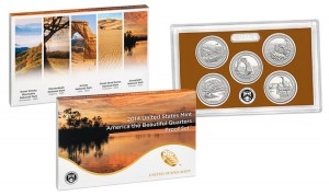 2014 America the Beautiful Quarters Proof Set