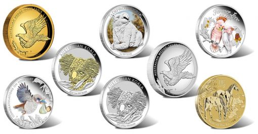 2014 Australian Silver and Gold Coins