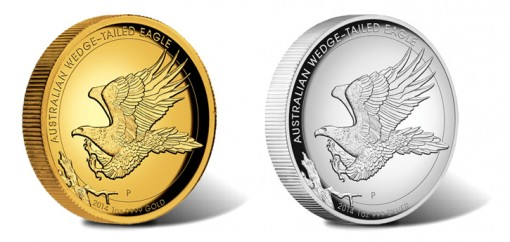 2014 Australian Wedge-Tailed Eagle High Relief Coins