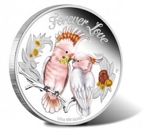 2014 Forever Love 1-2 oz Silver Proof Coin