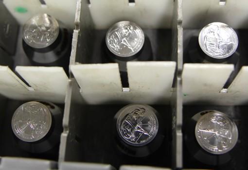 2014 Native American $1 Coin Dies - Reverses