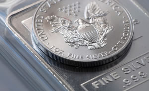 American Silver Eagle and Silver Bullion Barl