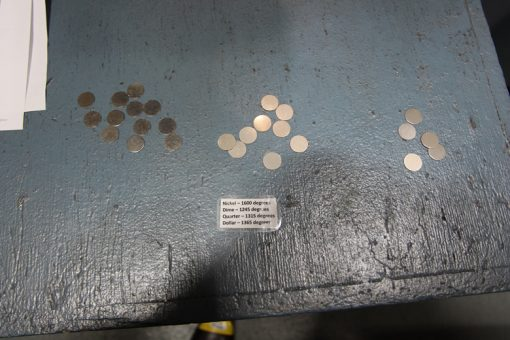 Blanks at After Production Stages, Denver Mint