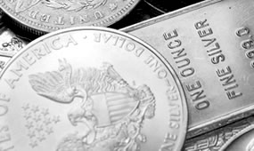 Bullion Silver Eagle, Bullion Bar and Other Silver Coins