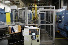 Center of CNC Three-Lathe System at Denver Mint