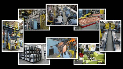 Photos of Denver Mint Coin Production Processes