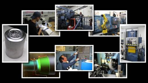 Photos of Denver Mint Die Manufacturing Processes