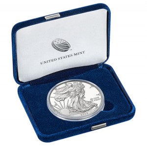 Presentation Case for Proof Silver Eagle