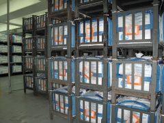 Racks of Bulk South Dakota Quarter Bags (4), Denver Mint