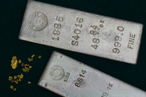 Two 999 Fine Silver Bullion Bars