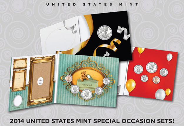 US Mint promotion image for its special occasion or gift sets