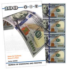 $100 Uncut Currency Sheet