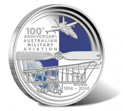 Centenary of Australian Military Aviation Coin Features Bristol Boxkite