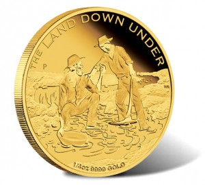 2014 Gold Rush Gold Proof Coin