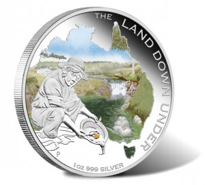 2014 Gold Rush Silver Proof Coin