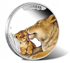 2014 Lioness Silver Proof Coin