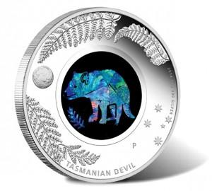 2014 Proof Tasmanian Devil Silver Coin