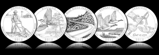 2015 America the Beautiful Quarter Design Candidates