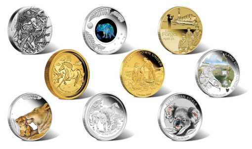 Australian Gold and Silver Coins, Releases in February 2014