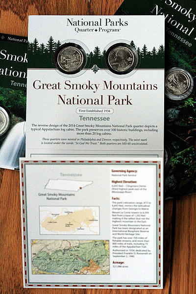Great Smoky Mountains National Park Set, Opened