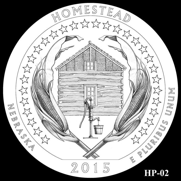 2015 America the Beautiful Quarter and 5 Oz Coin Design ...