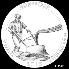 Homestead National Monument of America Quarter and Coin Design Candidate HP-03