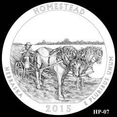 Homestead National Monument of America Quarter and Coin Design Candidate HP-07