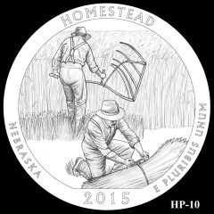 Homestead National Monument of America Quarter and Coin Design Candidate HP-10