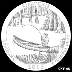 Kisatchie National Forest Quarter and Coin Design Candidate KNF-08