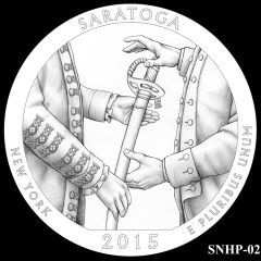 Saratoga National Historical Park Quarter and Coin Design Candidate SNHP-02