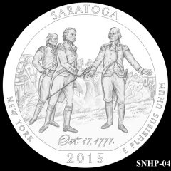 Saratoga National Historical Park Quarter and Coin Design Candidate SNHP-04