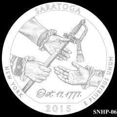 Saratoga National Historical Park Quarter and Coin Design Candidate SNHP-06