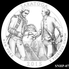 Saratoga National Historical Park Quarter and Coin Design Candidate SNHP-07