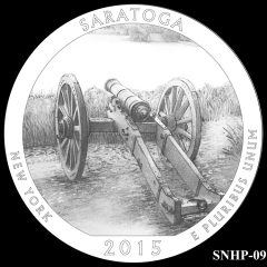 Saratoga National Historical Park Quarter and Coin Design Candidate SNHP-09