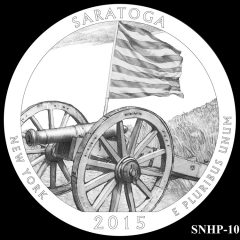Saratoga National Historical Park Quarter and Coin Design Candidate SNHP-10