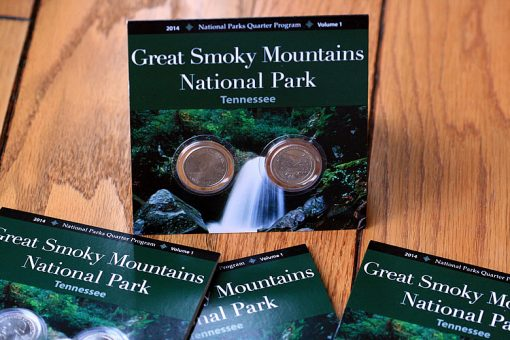 Uncirculated Great Smoky Mountains National Park quarter