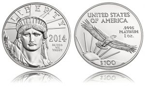 2014 American Platinum Eagle Bullion Coin